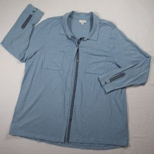 J. Jill Long Sleeve Button Up Top - 2X
